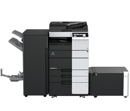 BizHub 558 Black and White Copier